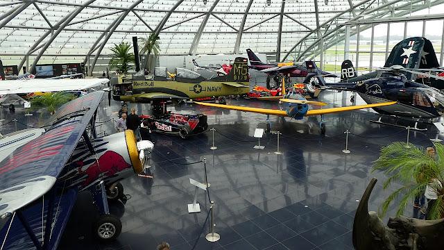 Hangar 7 in Salzburg Stadt