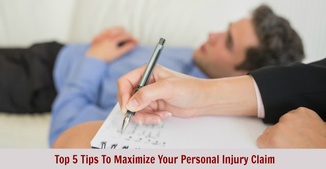 Top 5 Tips To Maximize Your Personal Injury Claim