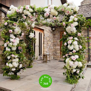 mẫu cổng hoa cưới đẹp nhất 9