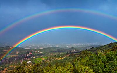 Google Image - 2 contoh explanation text dalam bahasa inggris dan artinya (rainbow)