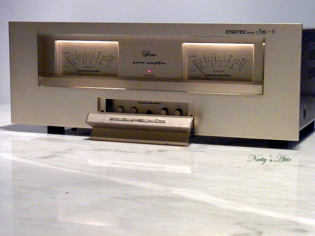 Vintage Power Amplifier 3