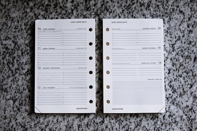 planner page sample