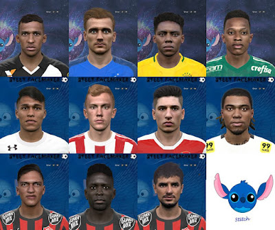 PES 2016 Facepack EUR-BR By Steet Facemaker
