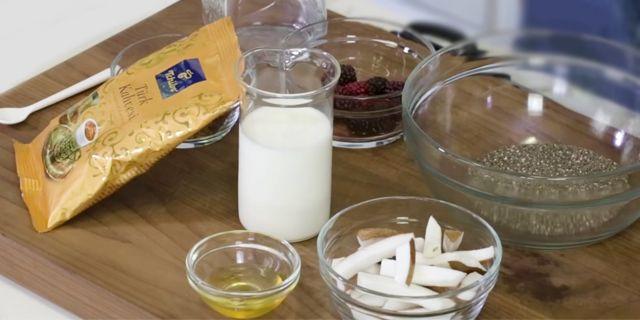 chia puding nasıl yapılır, chia puding yapımı, KahveKafeNet