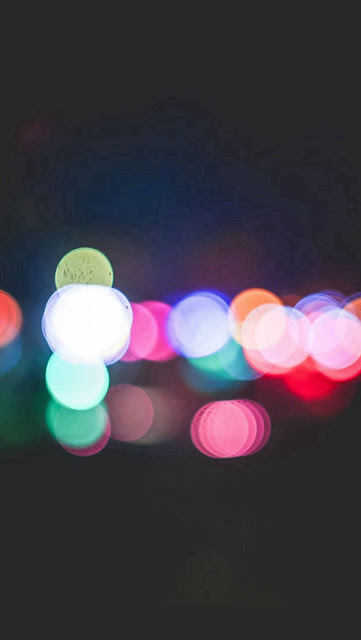 Bokeh Art Light Dark iphone 5 wallpaper - coolwallpaperforiphone_com