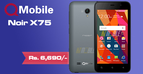for qmobile x75