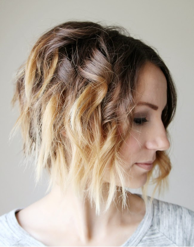 Terrific Loose Curls For Short Hair Video Tutorial One Little Momma Hairstyle Inspiration Daily Dogsangcom
