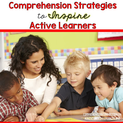 Looking for a few fun comprehension strategies you can use with any text? Check out this post for 3 great FREEBIES you can print and use.