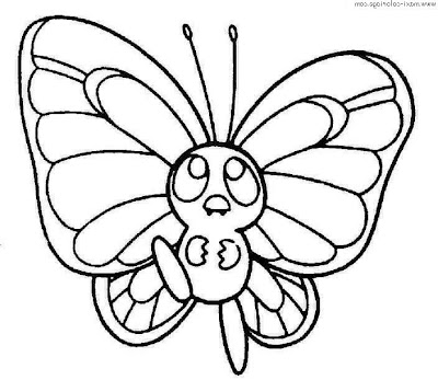 coloring pages of butterflies and caterpillars animated | La Chachipedia: Mariposas para colorear, para imprimir y ...