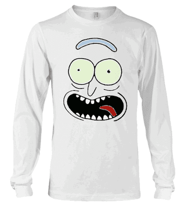 Pickle Rick Face Rick and Morty Hoodie and Sweatshirt