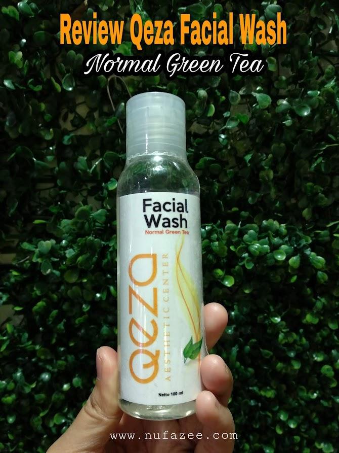 Review Qeza Facial Wash Normal Green Tea