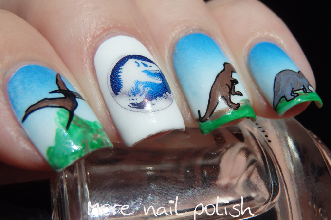 31DC2015 - Inspired by a movie - Jurassic World ~ More Nail Polish