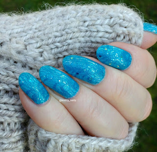 HJ   Manicure Blue Lagoon and Bundlemonster + Lucy's Stash BM-XL209