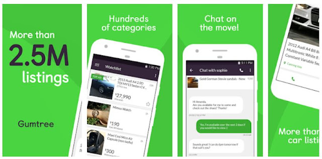 Download & Install Gumtree: Search, Buy & Sell Mobile App
