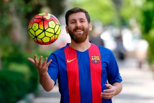 Mirip Lionel Messi, Mahasiswa Iran Bernama Reza Parastesh Ini Benar-Benar Beruntung!