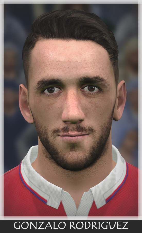 PES 2017 Gonzalo Rodriguez (Fiorentina)​ Face by Bono Facemaker