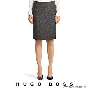 Princess Marie wore Hugo Boss Skirt