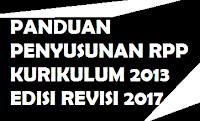 gambar panduan penyusuan  rpp k13 revisi 2017