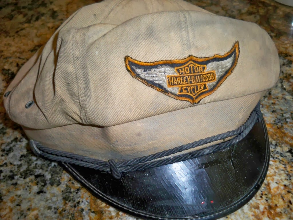Louisville Harley Davidson >> THRIFT SCORE...and more...: vintage Motorcycle Caps...