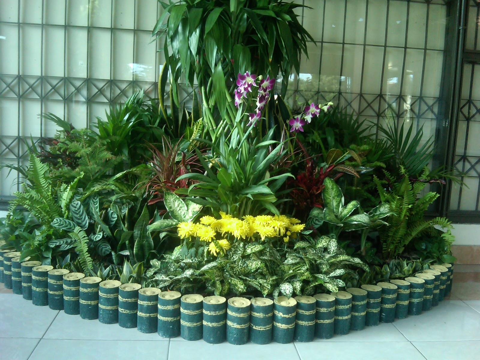 Dekorasi Taman Mini Garden