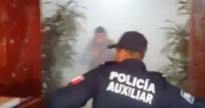 EXPLOSIVOS ESTALLAN EN HOTEL DE OAXACA DONDE SE REALIZA SESIÓN DEL CONSEJO ESTATAL DEL PRD