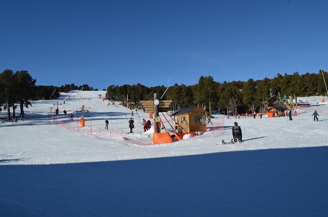 Estação de Esqui Fonte-Romeu na França