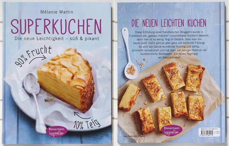 Rezension/Buchvorstellung Superkuchen von Mélanie Martin