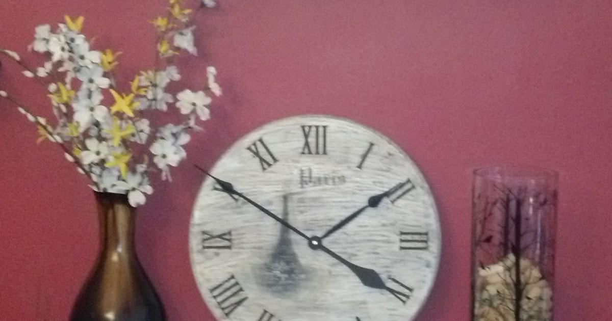 Diy Vintage Chic Vintage Clock