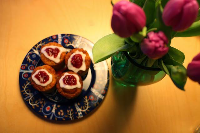 runebergin torttu runeberg leivonta tulppaani
