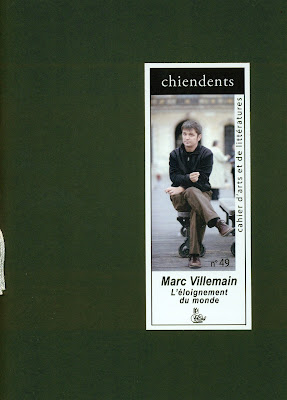 Chiendent n°49 : Marc Villemain
