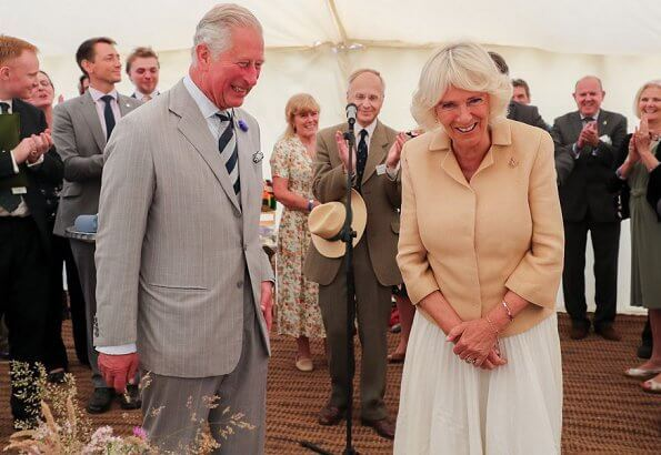 The Duchess of Cornwall celebrates her 72nd birthday
