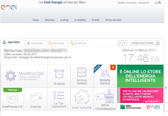 pagamento online fattura digitale utenze