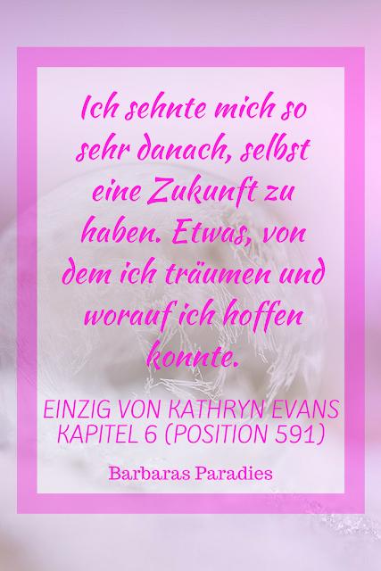 Buchrezension #146 Einzig von Kathryn Evans