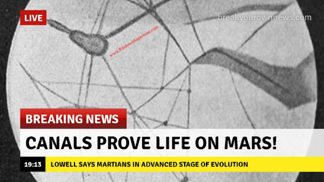 Life on Mars fake news  abiogenesis  has been around a long time