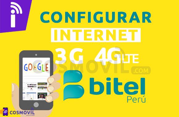 Bitel Perú: Configurar APN Internet 3G/4G LTE Android 2019