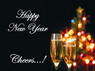 Cheers Status of New Year