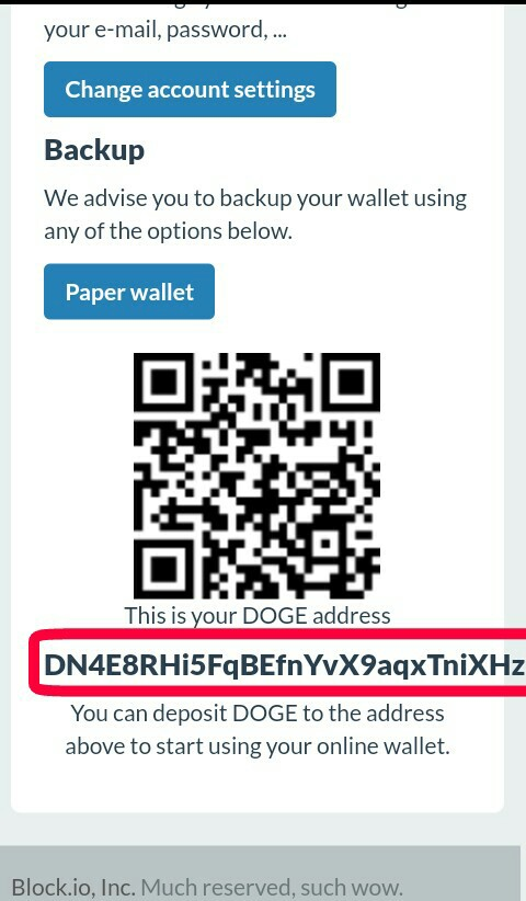 create dogecoin wallet