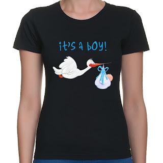 Koszulka z bocianem It's a boy