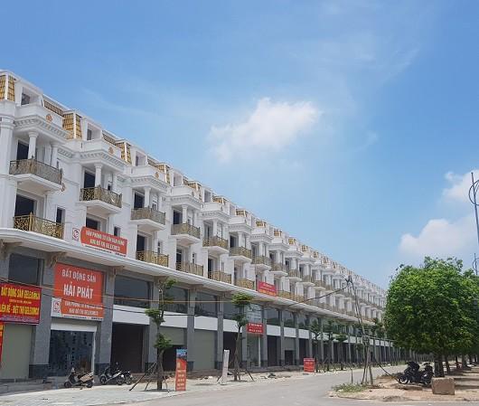 Khu shophouse Geleximco mặt đường Lê Trọng Tấn