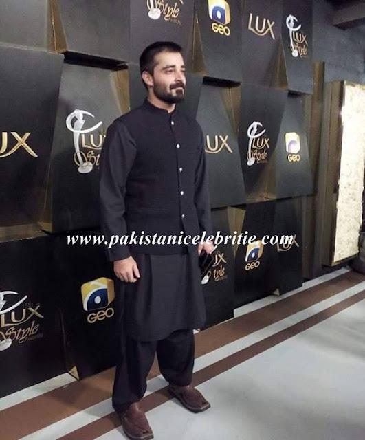 Hamza Ali Abbasi at LUX Style Award 2016