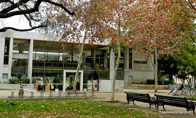 Café Literário Parque Bustamante, Santiago do Chile
