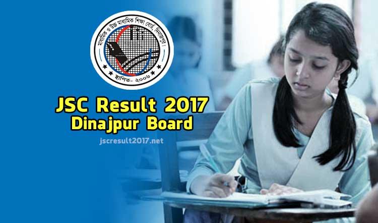 JSC Result 2017 Dinajpur Board