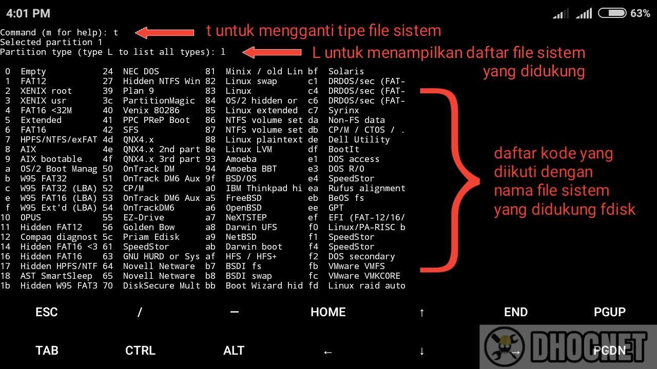 Membuat Disk Image Dengan Linux