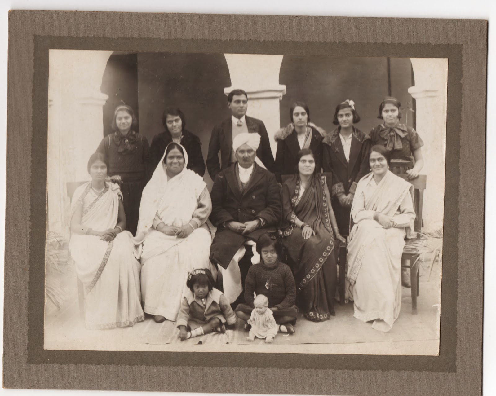 Rev. W.T. Williams and family at  Gurdaspur