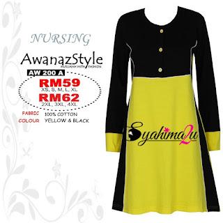 T-Shirt-Muslimah-Awanazstyle-AW200A