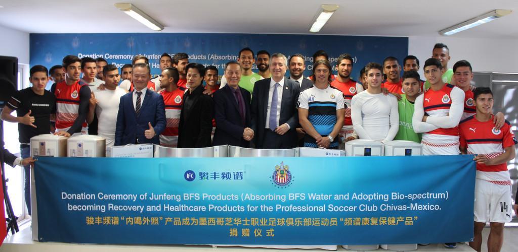 La empresa colabora con los atletas olímpicos de China.