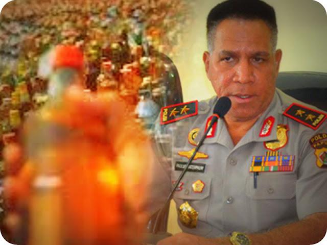 Paulus Waterpauw Perintahkan Pemberantasan Minuman Beralkohol di Jayawijaya