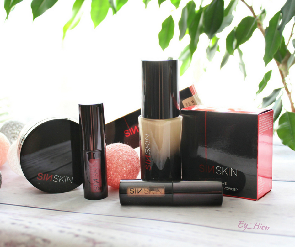 Kosmetyki do makijażu SINSKIN - recenzja
