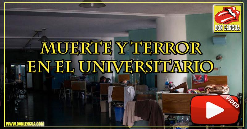 Varios pacientes murieron por falla de energía eléctrica en el Hospital Universitario