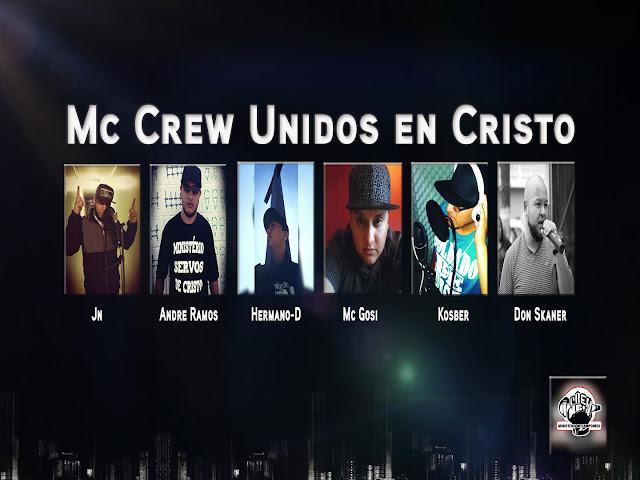 VÍDEO - Mc Crew Unidos em Cristo ( Cypher )